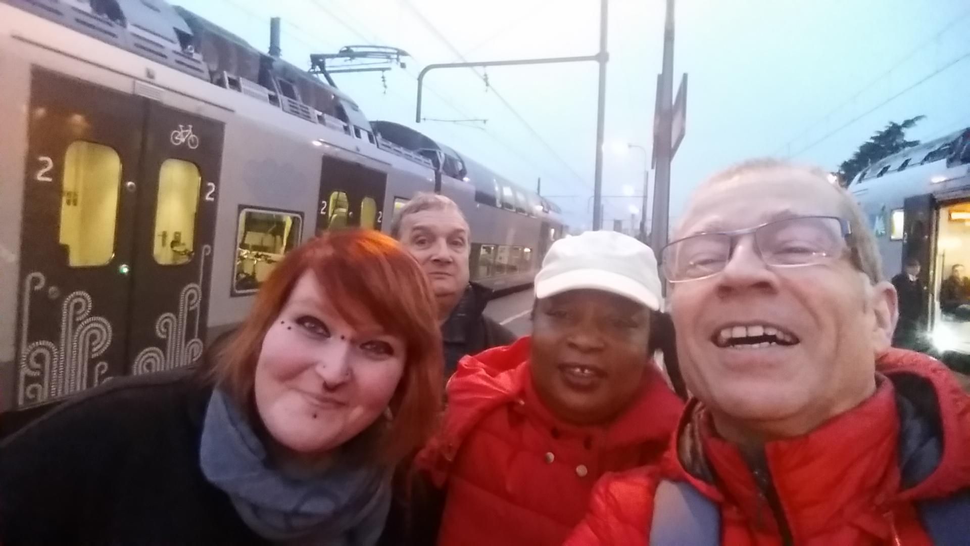Sortie mobilité urbaine du 28 novembre 2017 : à la découverte d'opérateurs mobilité
