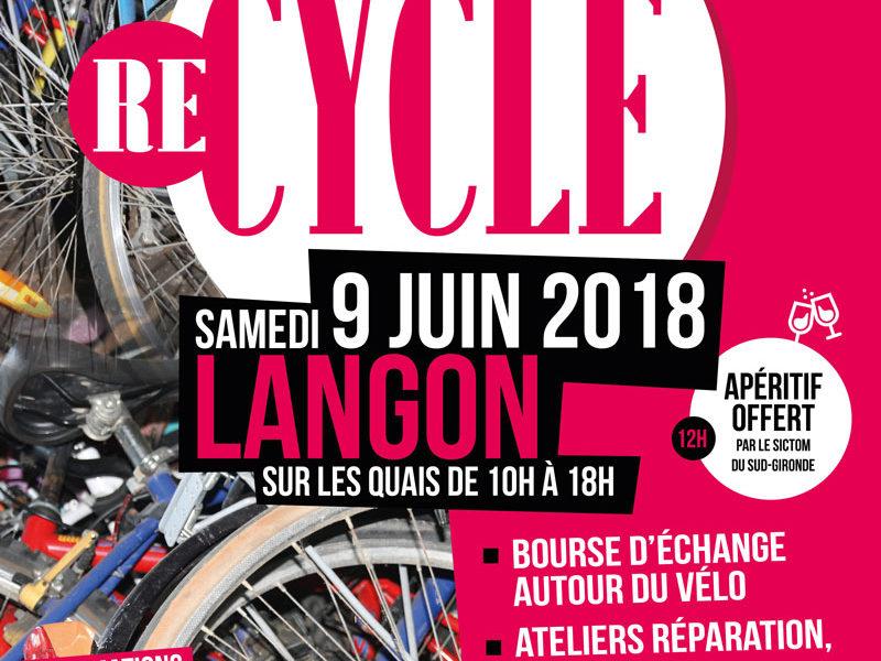 Re-Cycle, une fête autour de la réparation et du réemploi du vélo !
